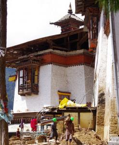 Essential repairs to Wangduephodrang Dzong